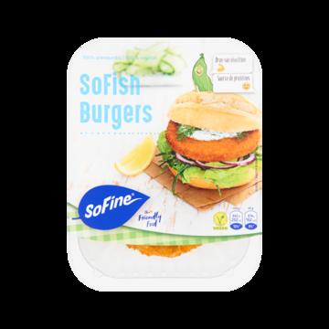 Sofish sofine burger vleesvervanger