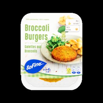 sofine broccoli burger vleesvervanger