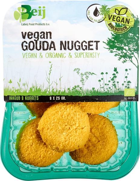 vegan gouda nugget kaas vleesvervanger