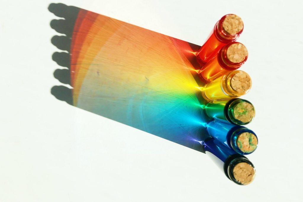Test tubes, afbeelding Joyce McCown
