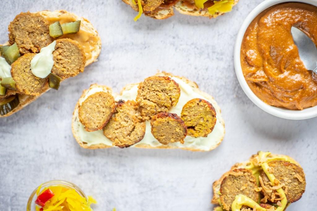 vegan broodje bal